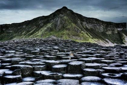 вулканическая тропа Ирландия