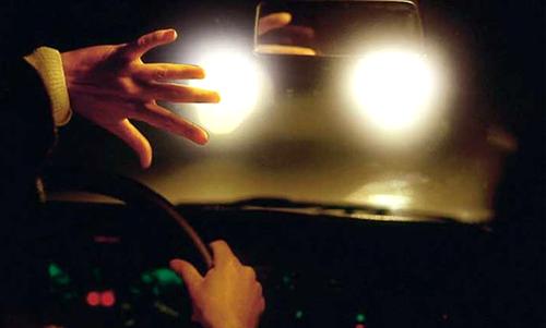 безопасность движения ночью