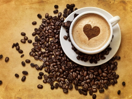 кофе в зернах свежесмолотый