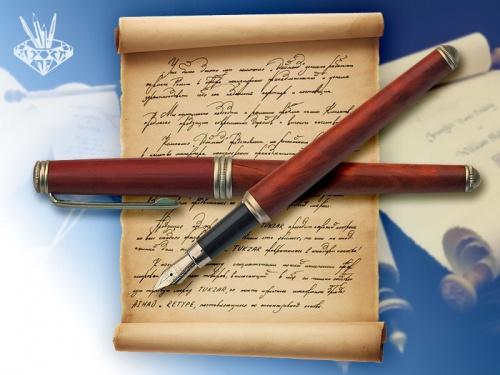 ручка письмо