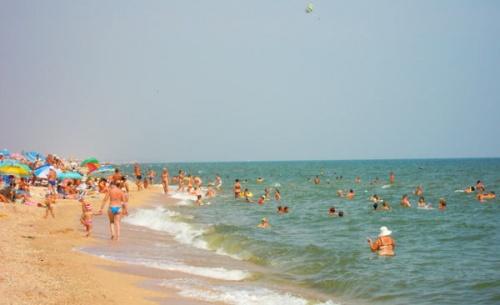 Бескрайние пляжи Арабатской стрелки